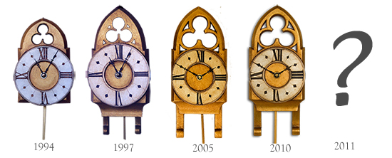 Design evolution of the Little Ben pendulum clock