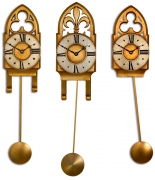 Small Pendulum Clocks