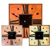 Square Clocks with Etched Dial