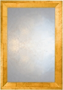 Triangular Profile Mirror in Pastel Copper