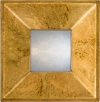 Raked Profile Mirror -Speckled Gold