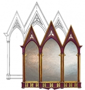 Triptych Overmantle Designs