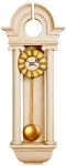Regency Classical Pendulum Clock