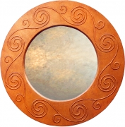 Celtic Round Mirror