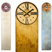 Round Top Rectangular Clock