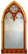 Gothic Arch Window Mirror