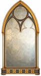 Large Gothic Arched Mirror