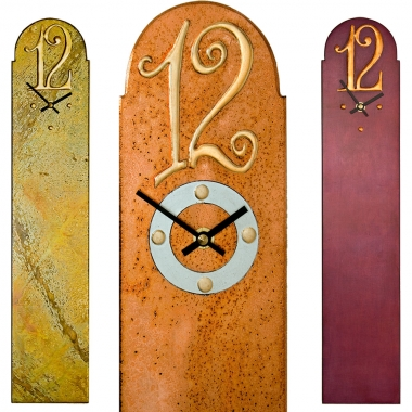 Rectangular Wall Clocks with Large 12