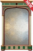 Three Centered Gothic Arch Mirror