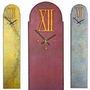 Rectangular Wall Clocks with Large XII dial