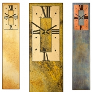 Rectangular Wall Clock with Rectangular Dial