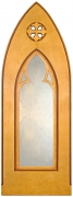 Ornate Gothic Arched Mirror