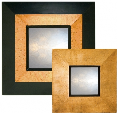 Pastel Copper Reverse Mirror
