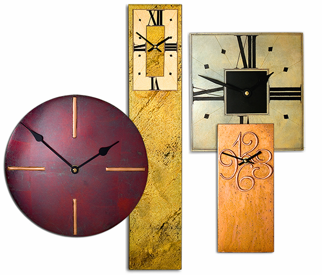 Mantle And Wall Contemporary Clocks