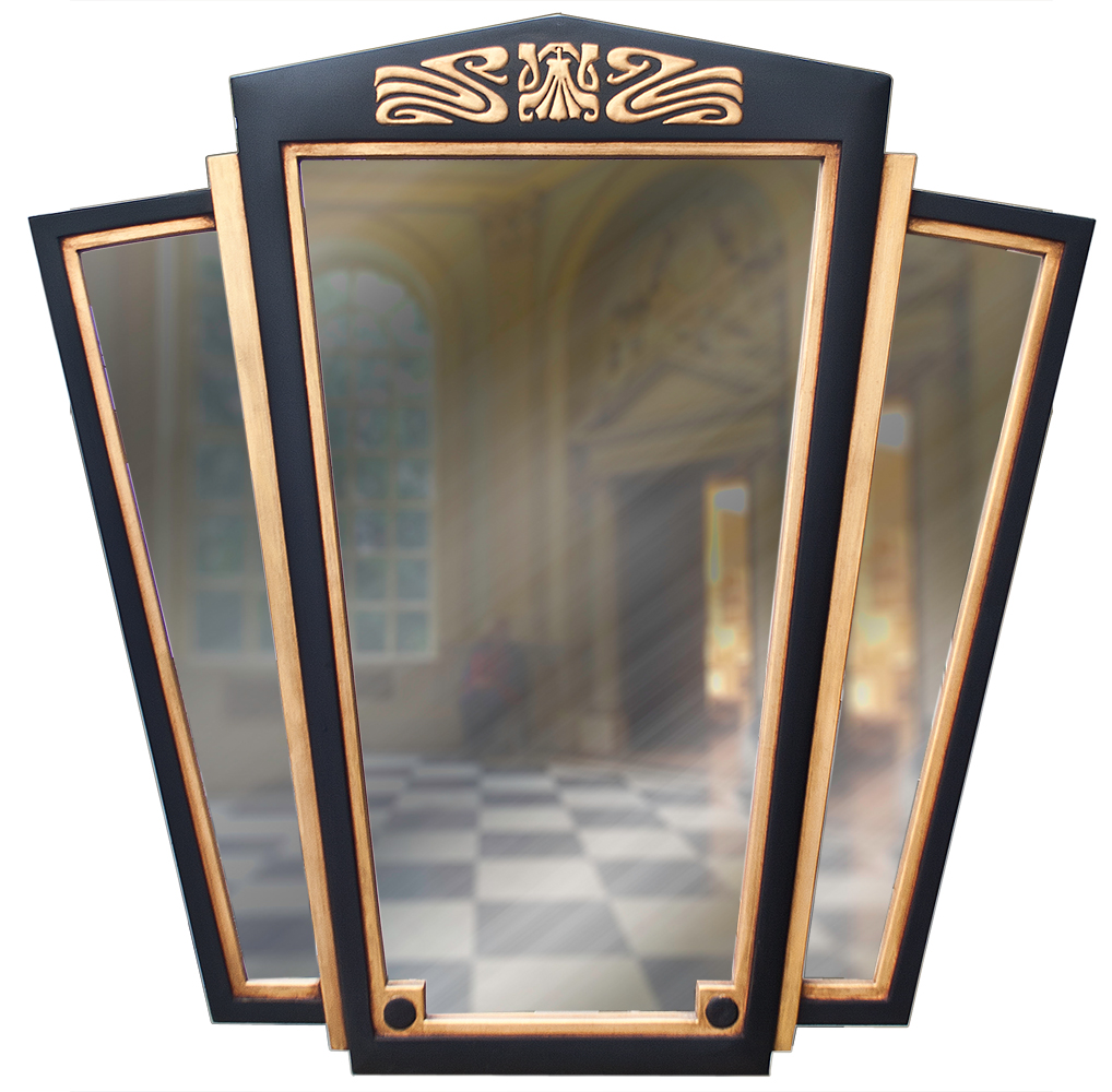 Large Art Deco Wall Mirror Decorative Wall Mirrors Uk Art Deco Styled Mirrors