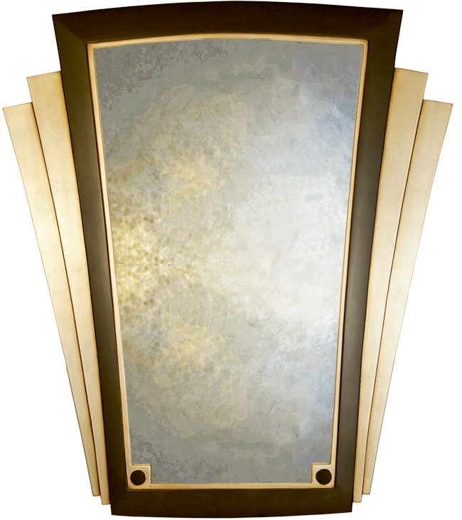 Art deco wall mirror uk handmade art deco mirrors for Miroir art deco