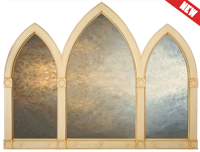 Large Gothic Mirrors Uk Gothic Arched Mirrors Arched