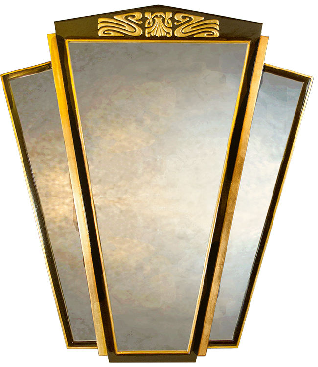large decorative wall mirror - art deco wall mirrors UK - art deco ...