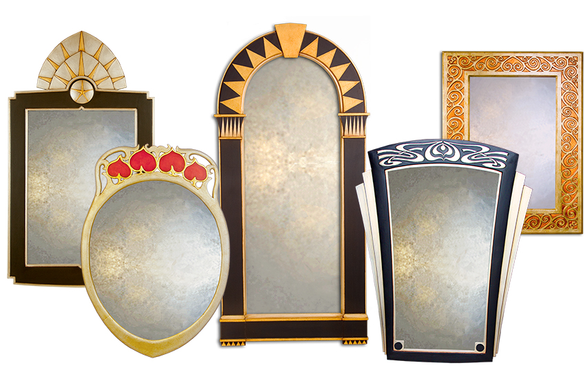 Art Deco Mirror Collection