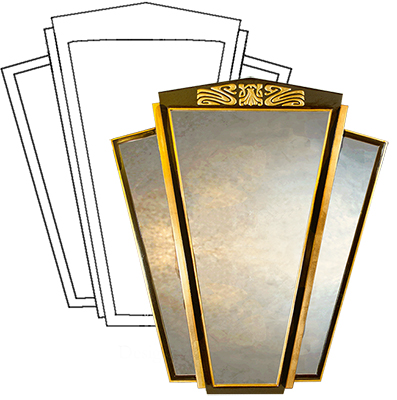 Art Deco Wall Mirrors Original Home Designs