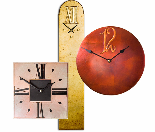 Contemporary Wall Clock Collection