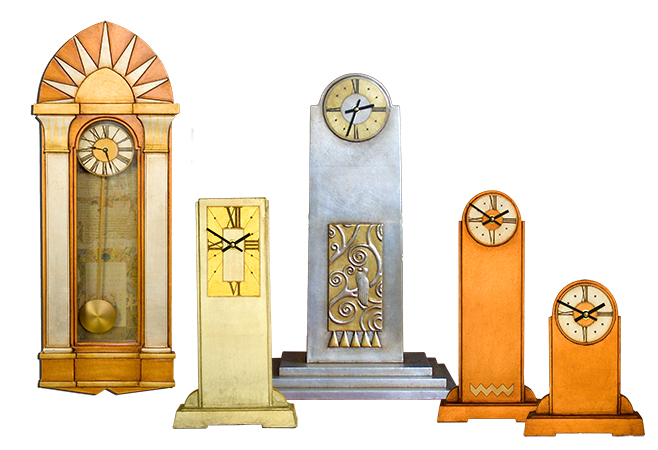 Art Deco Clock Collection