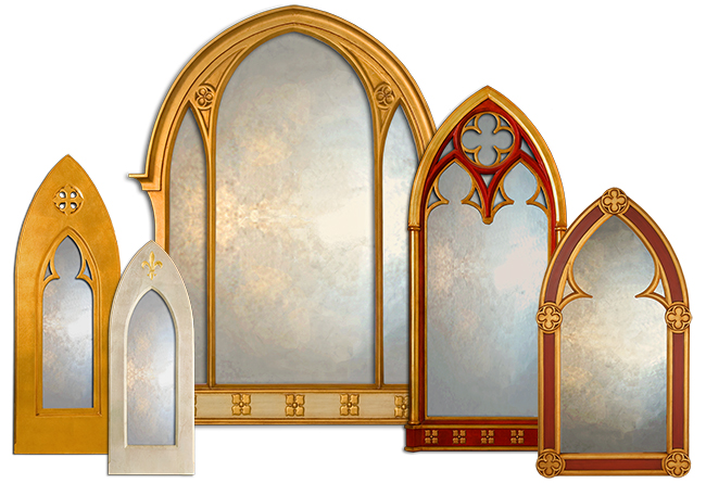 Decorative Arched Mirror Collection