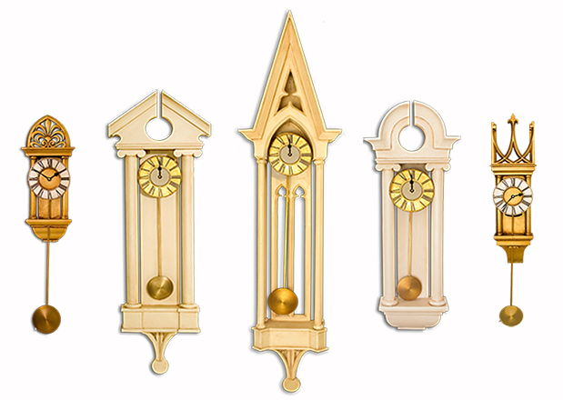 Decorative Column Clock Collection