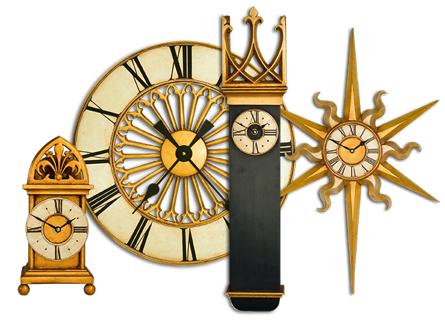 Gothic Clock Collection