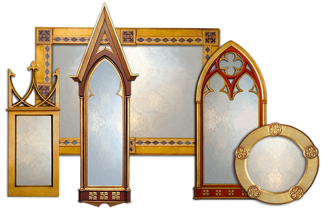 Gothic Mirror Collection