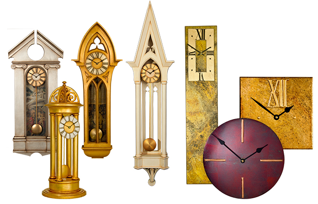 Large Clock Collection