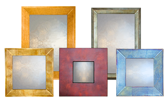 Large Overmantle Mirror Collection