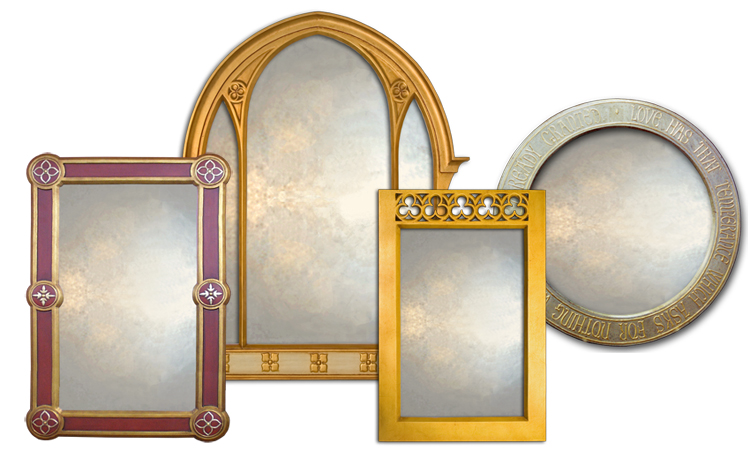 Decorative Overmantle Mirror Collection