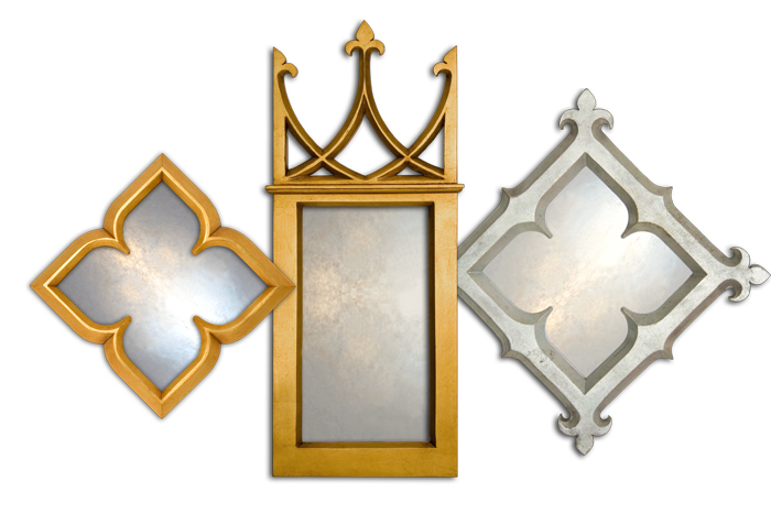 Small Decorative Mirror Collection