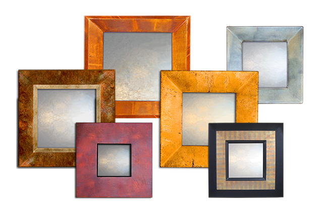 Small Contemporary Mirror Collection